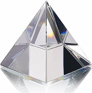 Energía pirámide de curación de cristal de cristal