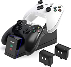 Estação de carregamento para controle Xbox One, estação de carregamento com controle de Xbox One Dual Xbox One/One X/One E...