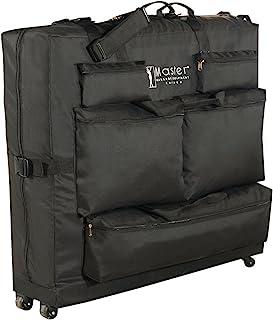 Master - Funda universal con ruedas para mesa de masaje, color negro
