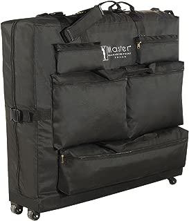 Master Massage Universal Wheeled Massage Table Carry Case,bag for Massage Table,Black.