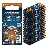 ANSMANN AG ANSMANN Hörgerätebatterien 312 (Braun...