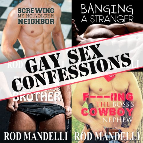 Gay Sex Confessions Story Collection, Volume 1 cover art