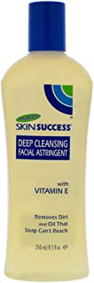 Palmer's Skin Success Deep Cleansing Facial Astringent With Vitamin E, 8.5 Ounce (Pack of 4)