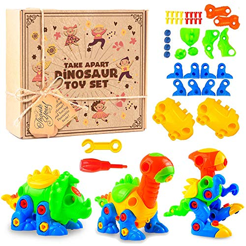 aGreatLife Take Apart Dinosaur Toys for Age 3 Above