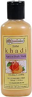 Khadi Rishikesh Herbal Apricot Body Wash - 210Ml