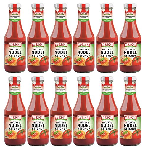 WERDER 12 x Nudel Ketchup