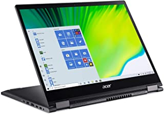 "Acer Spin 5 Convertible Laptop, 13.5"" 2K 2256 x 1504 IPS Touch, 10th Gen Intel Core i7-1065G7, 16GB LPDDR4X, 512GB NVMe SS..."
