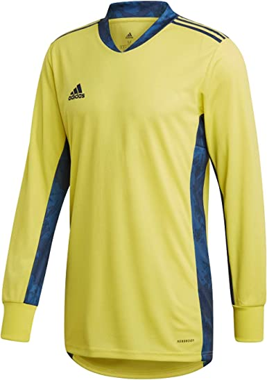 Amazon.com: adidas AdiPro 20 Goalkeeper Jersey Longsleeve Shock ...