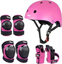 JBM Child & Adults Rider Series Protection Gear Set for Multi Sports Scooter, Skateboarding, Biking, Roller Skating, Prote...