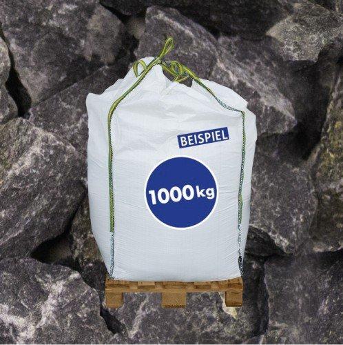 1000 kg BigBag Gabionen Steine Basaltbruch anthrazit 40-70mm - Steinbrocken - Bruchstein für Gabionen