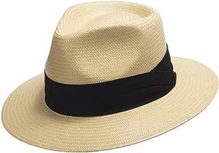 Monte Cristo Straw Fedora Panama Hat