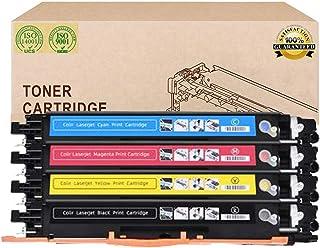 Reemplazo Compatible Cartuchos De Tóner HPCF350A CF351A CF352A CF353A para HP Color Laserjet Pro Tóner De La Impresora Multifunción M176n / M177fw Color del Laser,4 Colors