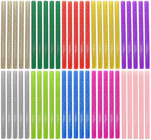 EWPARTS Glitter Hot Glue Sticks