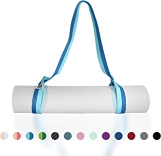 Tumaz Yoga Mat Strap, Adjustable Mat Carrier Sling & Stretching Strap with Thick, Durable and Comfy Delicate Texture, 64