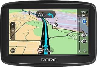 TomTom GPS Voiture Start 42, 4 Pouces, avec les Cartes d'Europe, Essai des Alertes de Zones de Danger, Fixation Reversible...