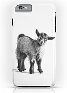 Roses Garden Phone Case Protectivedesign Cell Case Goat Baby G097 Tough Case for iPhone 6 Plus
