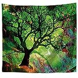 OTIAN Wandteppich Mandala Hippie Baum Tagesdecke Wanddecke Böhmischen Psychedelischen Dekorativen Wandteppich 10 Farben