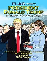 president donald trump a patriots coloring book