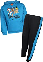 Nickelodeon Boys Paw Patrol 2-Piece Jogger Set— Fleece Pullover Hoodie and Jogger Pant (Toddler/Little Boys)