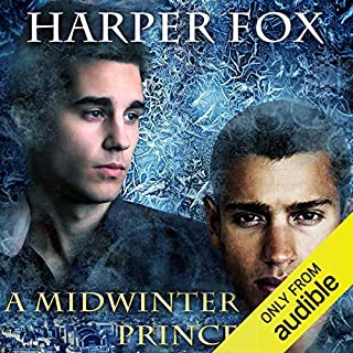 A Midwinter Prince audiobook cover art
