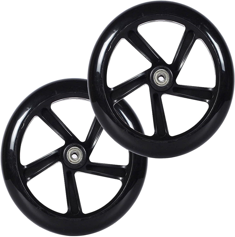 2pcs Maximum Load 180kg Front Wheelchair Wheel Solid Wheel Repla