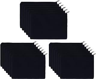 Canvas Pouches Blank, 20PCS KOOLMOX Canvas Zipper Pouch, Plain Canvas Pencil Bag, Makeup Bags, Cosmetic Bags Bulk for DIY ...