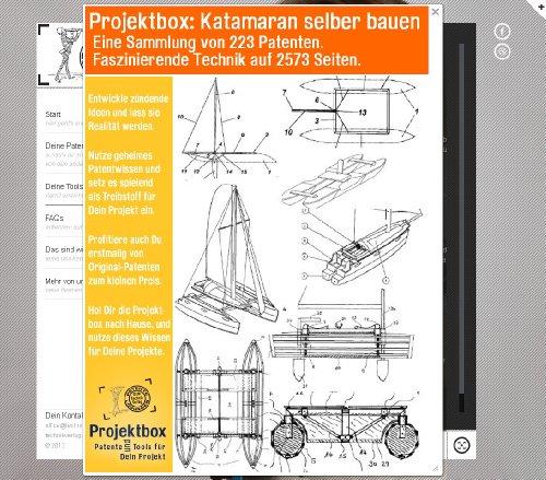 Katamaran selber bauen: Deine Projektbox inkl. 223 Original-Patenten bringt Dich mit Spaß ans Ziel!