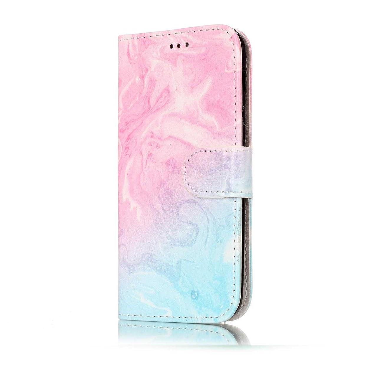福祉白内障比喩CUNUS Galaxy A5 2017 ケース, 落下防止 可愛 軽量 カード収納 合皮レザー スタンド機能 耐汚れ高品質 スマホ ケース, ピンク 1