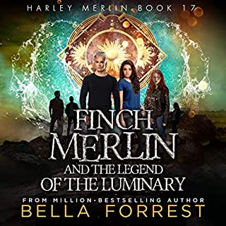 Page de couverture de Finch Merlin and the Legend of the Luminary