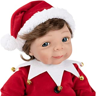 Paradise Galleries Limited Edition Reborn Doll - Elf, GentleTouch Vinyl, Weighted Body, 10-Piece Reborn Doll Set