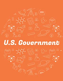 U.S government notebook: Amazing Notebook Journal for the students, with perfect colors and fantastic design