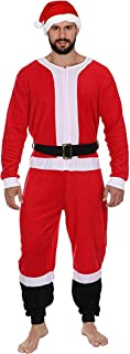 Holiday Grinch Santa Elf Reindeer Family Union Suit Costume Pajamas