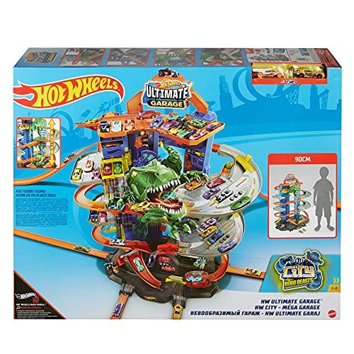 Super Dino Garage Hot Wheels