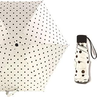 SHANGRUIYUAN-Umberllas Umbrella Car Travel Umbrella 10 Ribs Windproof Folding Umbrella (Color : White, Size : Free)