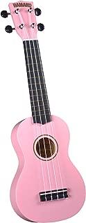Hamano U-30PK Colorful Soprano Ukulele - Pink