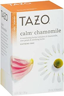 Tazo Calm Chamomile Herbal Tea, 20 ea (Pack of 2)