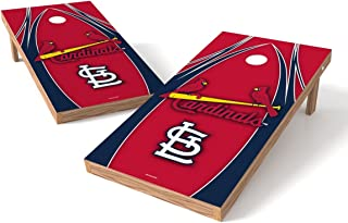 MLB St. Louis Cardinals V Design Tailgate Toss XL with Shield, Multi, 48