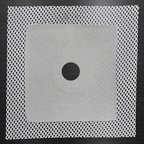 Dichtmanschette Wandmanschette 120 x 120 mm Dehnöffnung, Loch Ø 16mm Dichtband Badabdichtung Dusche Küche G01