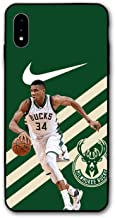 iPhone XR Case Basketball Custom Anti-Scratch Shock Phone Case for iPhone XR Only 6.1 inches (Giannis)