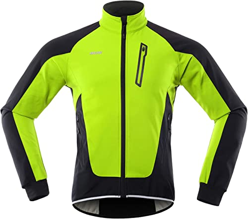 Veste De Pluie R/éfl/échissante Imperm/éable Haute Visibilit/é pour V/élo avec Manches Amovibles Veste De Cyclisme pour Homme avec Capuche Coupe-Vent De V/élo L/éger Respirant