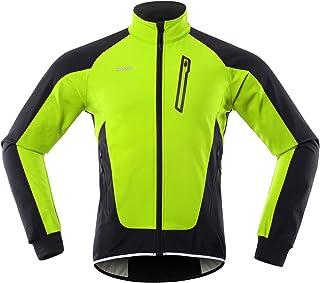 Veste coupe-vent Veste de cyclisme pour homme Imperm/éable Coupe-vent V/êtement de sport Poche arri/ère Manches longues