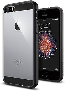Spigen Ultra Hybrid Designed for Apple iPhone 5S Case (2013) / Designed for iPhone 5 Case (2012) - Black