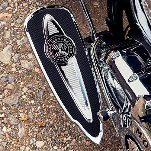 Indian Motorcycle Select Rider Floorboards in Chrome, Pair - 2883021-156