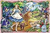 QMGLBG 1000 Pieces of Wooden Puzzles La Historia del Tangram Magic Art Wizard of Oz se Puede Usar como decoración de la Pared del hogar como Regalo