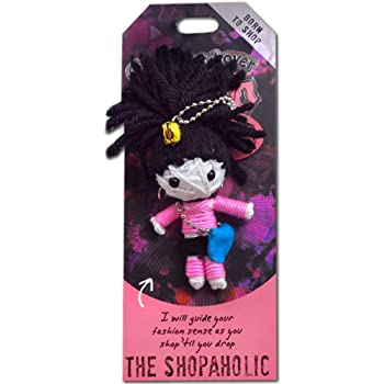 """Watchover Voodoo Doll The Shopaholic  3/"""" New Lucky Charm"""