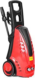 Gracelove Details about Heavy Duty 2030PSI Electric High Pressure Washer 2000W 1.76GPM Jet Sprayer (Red)