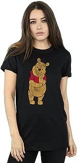 Disney Women's Winnie The Pooh Classic Pooh Boyfriend Fit T-Shirt