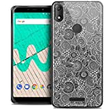 Ultra-Slim Floral Lace Case for 6 Inch Wiko View Max, White