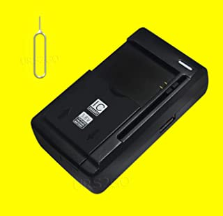 Universal Travel Dock USB/AC Battery Charger with Additional Valueable Accessory (See Picture) for Samsung Galaxy Express Prime 2 SM-J327A AT&T