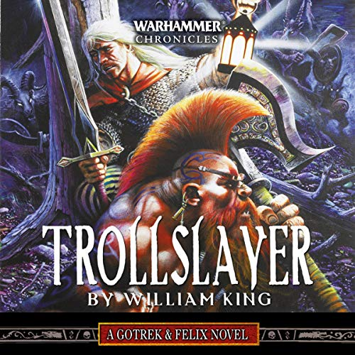 Trollslayer audiobook cover art